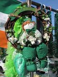 Boneca do Leprechaun para o dia do St. Patrick Foto de Stock Royalty Free