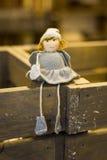 Boneca do Natal Imagens de Stock Royalty Free