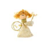 Boneca do Natal um anjo imagem de stock