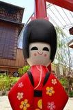 Boneca do quimono de Japão Fotografia de Stock Royalty Free