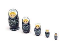 Boneca do russo foto de stock