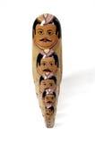 Boneca do russo com fileira típica Imagem de Stock Royalty Free