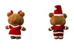 Boneca do urso do Natal fotos de stock