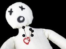 Boneca do Voodoo fotografia de stock royalty free