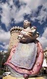 A boneca e o bebê Imagens de Stock Royalty Free