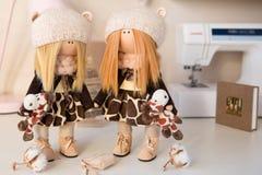 Boneca feito a mão Fotografia de Stock Royalty Free