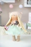 Boneca feito a mão Imagens de Stock Royalty Free