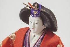 Boneca japonesa Fotografia de Stock Royalty Free