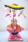 Boneca japonesa Foto de Stock Royalty Free