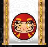 Boneca japonesa de Daruma Imagens de Stock