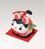 Boneca japonesa do cão Imagem de Stock