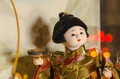Boneca japonesa, ningyoo de Hakata Imagem de Stock