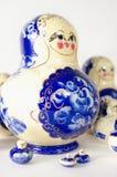 Boneca pintado à mão do assentamento Imagens de Stock Royalty Free