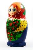 Boneca tradicional do matryoshka do russo Imagens de Stock