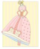 Boneca - uma princesa ilustração stock
