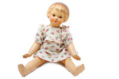 Boneca velha Foto de Stock