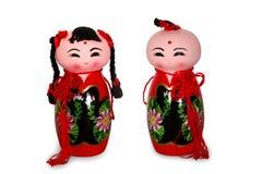 Boneca vermelha Fotos de Stock Royalty Free