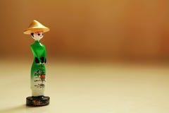 Boneca vietnamiana da mulher Imagem de Stock Royalty Free