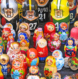 Bonecas aninhadas Imagem de Stock Royalty Free