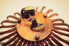 Bonecas bonitas da argila de Bangladesh imagens de stock