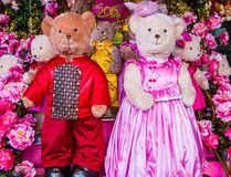 Bonecas bonitas do urso Imagem de Stock Royalty Free