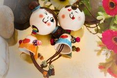 Bonecas bonitas dos pares no conceito do amor Fotos de Stock