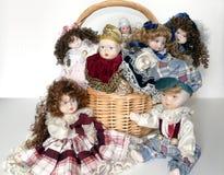 Bonecas da argila Imagens de Stock Royalty Free