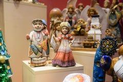 Bonecas da lembrança do russo Imagens de Stock