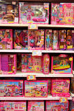 Bonecas de Barbie fotos de stock royalty free