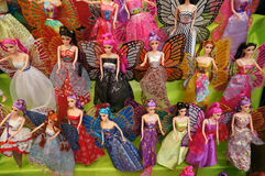 Bonecas de Barbie imagens de stock