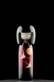 Bonecas de Kokeshi Fotografia de Stock