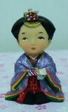 Bonecas de Kokeshi imagens de stock royalty free