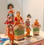 Bonecas de Manipuri Fotografia de Stock