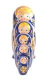 Bonecas de Matryoshka foto de stock