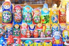 Bonecas de Matryoshka Fotografia de Stock Royalty Free