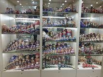 Bonecas de Matryoshka Imagens de Stock Royalty Free