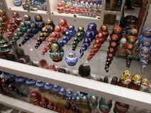 Bonecas 2 de Matryoshka Imagem de Stock