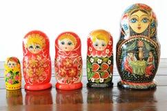 Bonecas de Matryoshkas Imagens de Stock