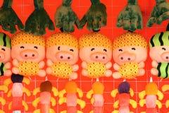 Bonecas de pano Imagem de Stock Royalty Free