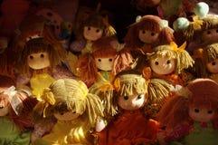 Bonecas de pano Fotografia de Stock Royalty Free