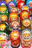 Bonecas do assentamento Imagem de Stock