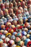 Bonecas do assentamento do russo Imagem de Stock