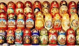 Bonecas do assentamento para turistas Fotografia de Stock