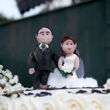Bonecas do casamento Foto de Stock
