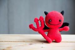 Bonecas do diabo vermelho fotografia de stock
