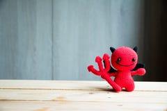 Bonecas do diabo vermelho fotos de stock royalty free