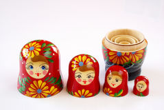 Bonecas do russo Imagem de Stock Royalty Free
