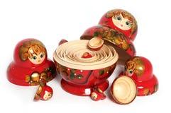 Bonecas do russo Imagens de Stock
