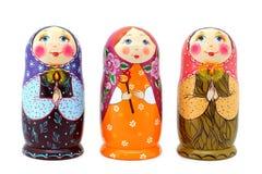Bonecas do russo Fotografia de Stock
