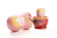 Bonecas do russo um interior o outro Foto de Stock